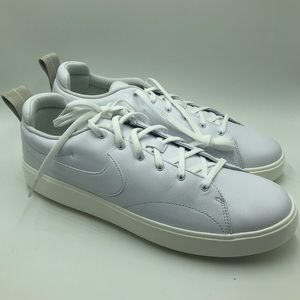 Nike Course Classic White Golf Shoes Brand New